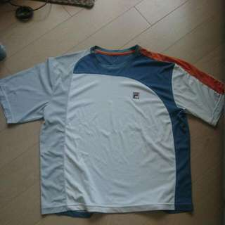 Fila Tennis Dri Fit Shirt Size L to Xl Polyester
