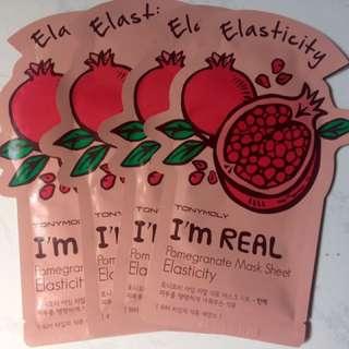 Masker Korea Pomegranate