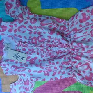 Lilly Pink Romper