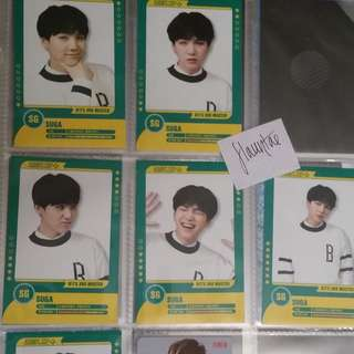 Bts Muster Player Cards