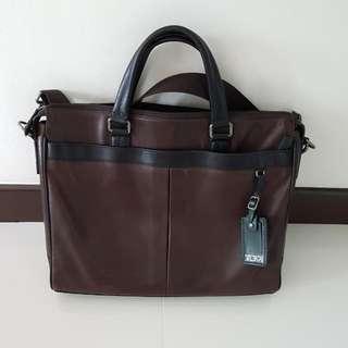 Genuinr Tumi Leather Bag