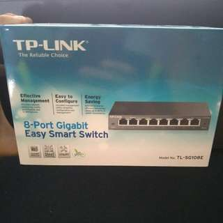 Tp Link Easy Smart Switch TL-SG108e.
