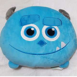 2@RM50 Monsters Inc James Sullivan Sully Pillow Tsum Blue Cushion