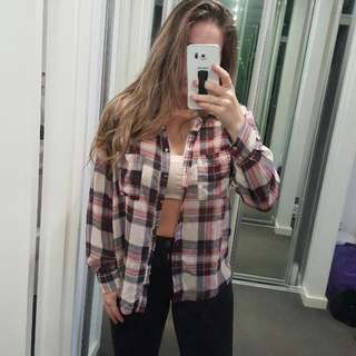Plaid Shirt Forever 21