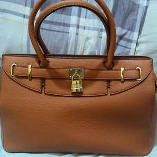 Repriced! New Hermes Inspired Brown Bag