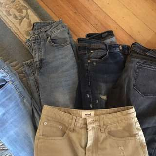 Ksubi, Seed, Zara, Dotti Jeans For Sale!