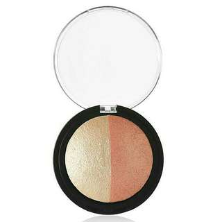 e.l.f Baked Highlighter & Blush On - Rose Gold 100% Original By. ELF US