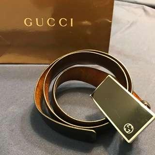 Gucci皮帶