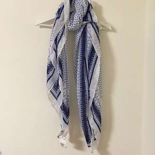 🚚 二手全新 hM絲巾