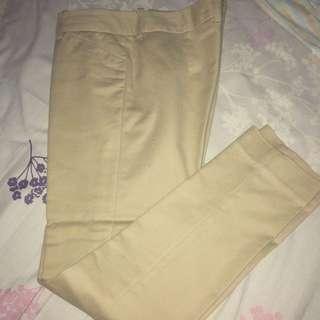 The Executive - Women Cream Trousers
