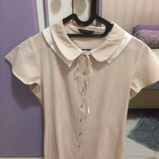 The Executive - Short Sleeves Blouse