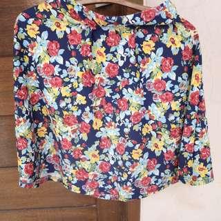 Midi Skirt Flowers