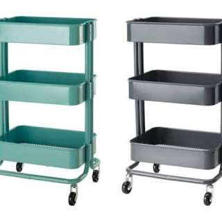 Mint OR Charcoal Trolleys