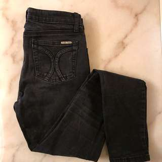 Charcoal High Wasted Jeans
