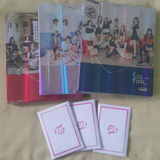 TWICE 4th Mini Album - Signal