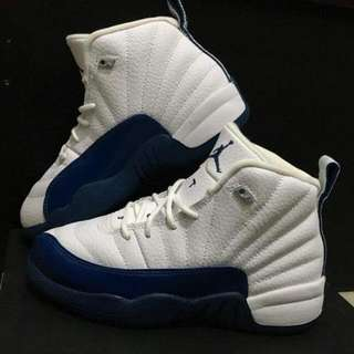 Jordan 12 Retro - Kids - French Blue - 13.5c