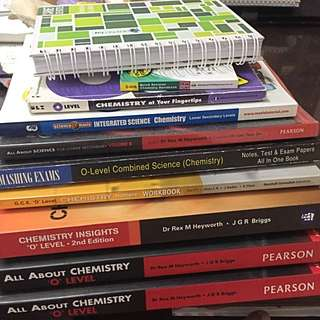 clearance sale chemistry o levels handbooks lower primary notebooks combined science workbook chemistry insights all about chemistry pearson longman