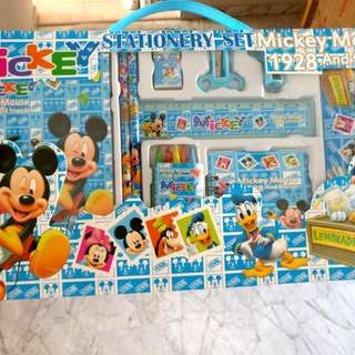 Mickey Stationery Set Mickey Mouse 1928 And Friends