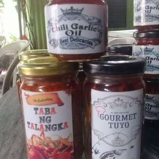 Taba Ng Talangka, Gourmet Tuyo Chili Garlic Oil