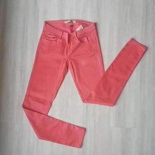 Zara Peach Maong Pants