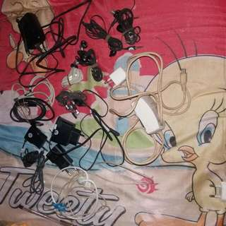 Take All 13 Pcs..Carger Nokia Ori ,kabel Data Ori.carger Bb Ori (Bisa Untuk Android)
