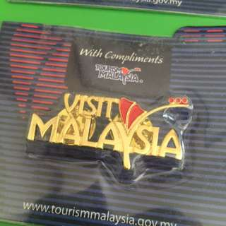 3D 'Visit Malaysia' Shirt Pins