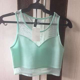 BNWT H&M Cropped Top