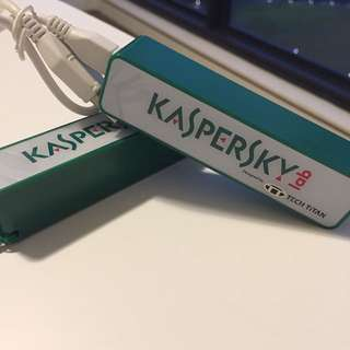 2x Kaspersky Power Bank