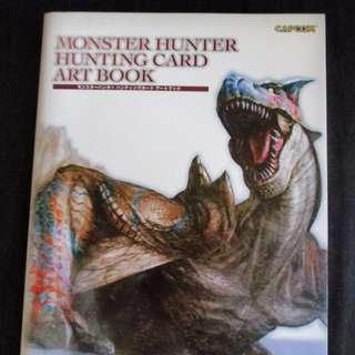 Monster Hunter Hunting Card Art Book