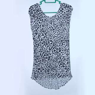ZARA Dress with Leopard Pattern