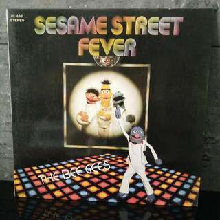 LP The Bee Gees..Sesame Street Fever