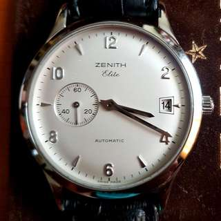 Zenith Elite Small Second Automatic Watch 38mm