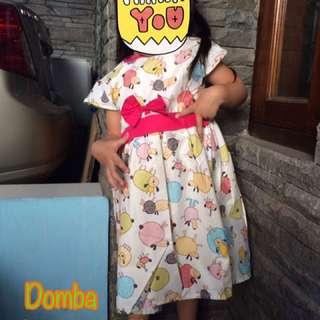 new 😍 Katun Dress Girl 3-6 Years