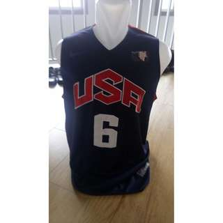 Baju Basket USA Lebron James