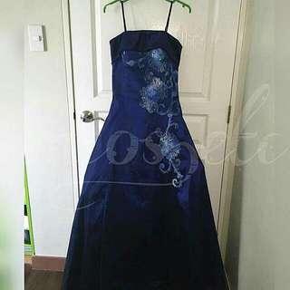 👗 Blue Flawless Dress