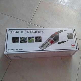 Brand new Black + Decker Dustbuster Auto Car Vacuum