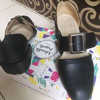 Vlorentino Black Heels By Adorable Projects