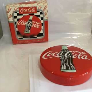 Coca Cola Paper Weight 可口可樂
