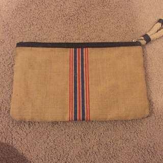 Vintage Country Road Clutch