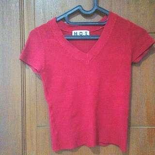 Red Shirt Rajut