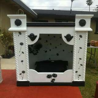 Custom Made Dog House - beautiful!