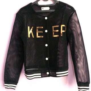 Varsity Net Jacket