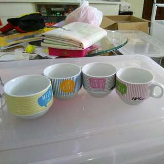 Set Of 4 Tea Cup