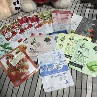 Assorted Korean Face Mask