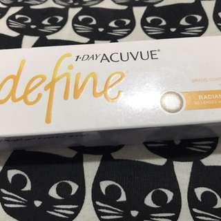 Daily Acuvue Define