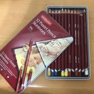 DERWENT 12 Pastel Pencil Skintones