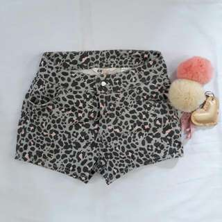 H&M Leopard Shorts For Kids
