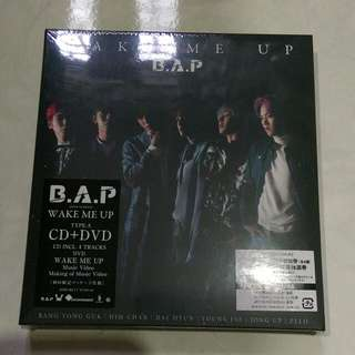 B.A.P Japan Wake Me Up Album Type A Sealed