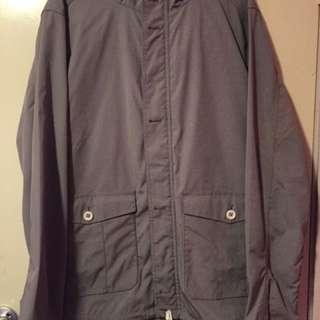 Levis Waterproof Jacket - Grey - XL