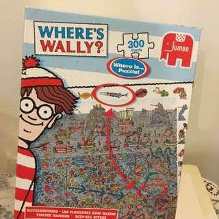 🚚 Where's Wally 尋找威力拼圖